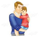 Fathers Day Clip Art PNG images