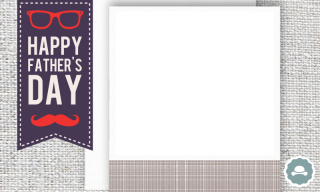 Happy Fathers Day Frames PNG images