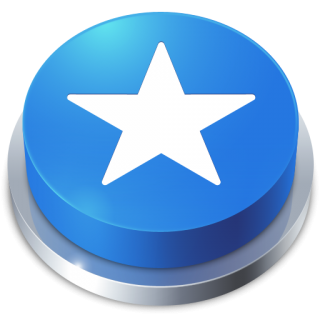 Favorites Star Blue Button Icon Png PNG images