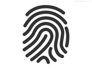 Fingerprint Currently Scanning Icons | Free Download PNG images