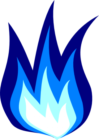 Blue Fire PNG images