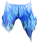 Pants Blue Fire Fashioned PNG images