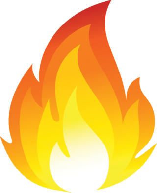 Cartoon Fire Flames Transparent PNG images
