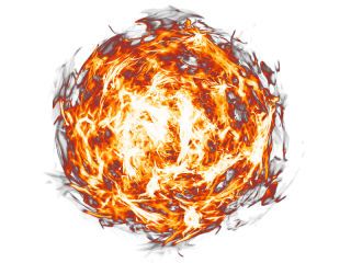 Hd Fireball Png Transparent Background PNG images
