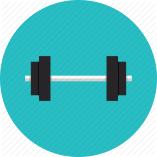 Vector Fitness Exercise Icon