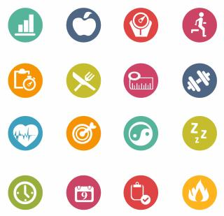 Free Vector Fitness Icons 132989 Fitness Icons PNG images