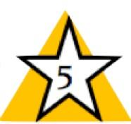 Free Icon Five Star PNG images