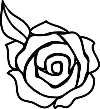 Flower Black And White Rose Flower Clipart Black And White PNG images