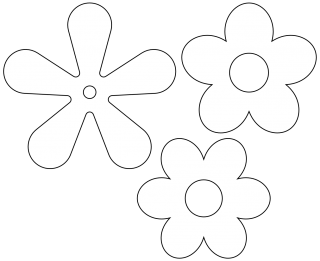 Retro Flower Icon PNG images