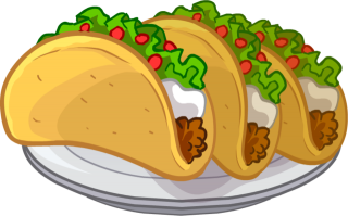 Tacos Puffle Food Png PNG images