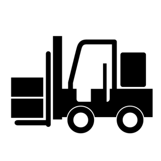 Forklift Vehicle Icon PNG images