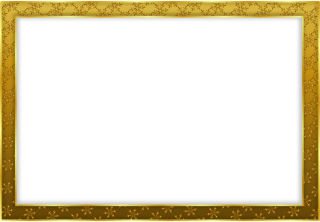 HD Frame Gold PNG PNG images