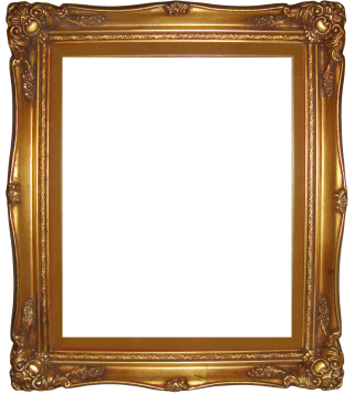 PNG Photo Frame Gold PNG images