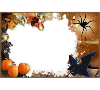 Background Transparent Frame Halloween PNG images