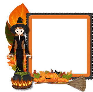Best Free Frame Halloween Png Image PNG images