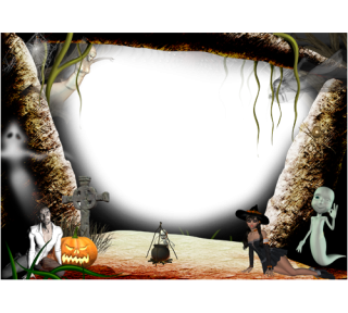 Get Frame Halloween Png Pictures PNG images