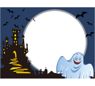 Free Pictures Clipart Frame Halloween PNG images