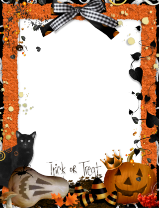 Download Images Free Frame Halloween Png PNG images