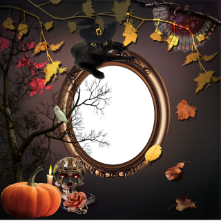 Transparent Background Frame Halloween Png PNG images