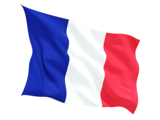 Vector Drawing France Flag PNG images
