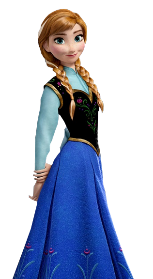 Disney Anna Frozen Png PNG images