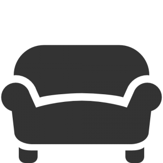 Sofa Black Icon PNG images