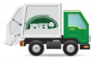 Garbage Truck Free Svg PNG images
