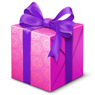 Vector Drawing Gift Box PNG images