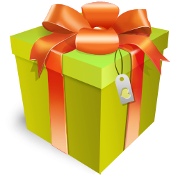 Green Gift Box Icon PNG images