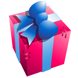 Purple Gift Box Icon PNG images
