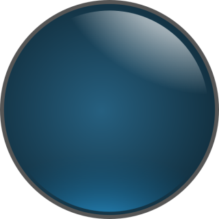 Blue Glossy Ball Png PNG images