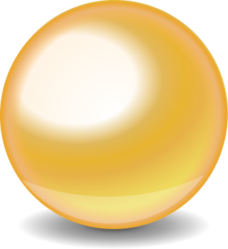 Gold Glossy Ball Png PNG images