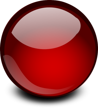 Red Glossy Ball Png PNG images