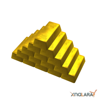 Transparent Gold Bar Image PNG PNG images