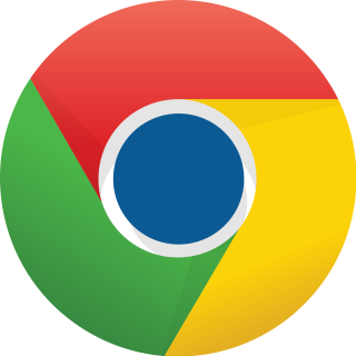 Blue Google Chrome Icon PNG images