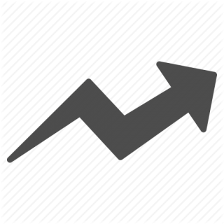 Arrow, Chart, Diagram, Graph, Growth, Progress, Trend Icon PNG images
