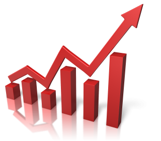 Arrow Graph Growth PNG images