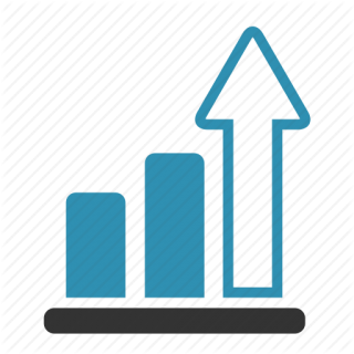 Growth Arrow Icon Arrow Chart Growth Progress PNG images