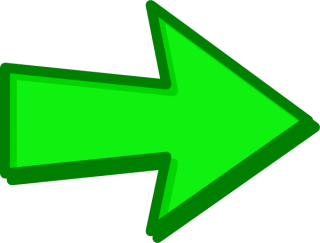 Green Right Arrow PNG images