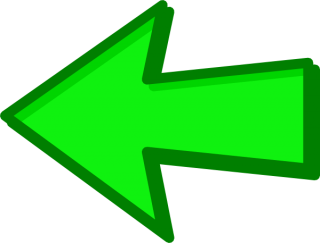 Left Green Arrow Png PNG images