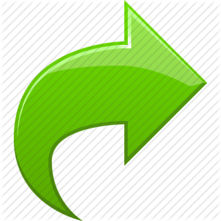 Green Curved Arrow Png PNG images