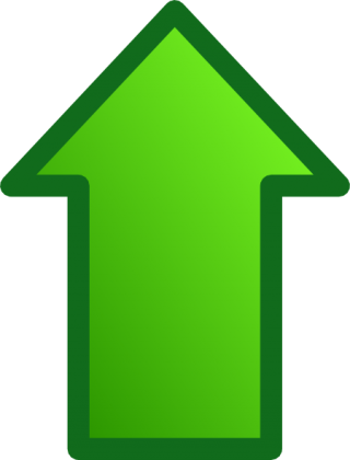 Green Up Arrow Png PNG images