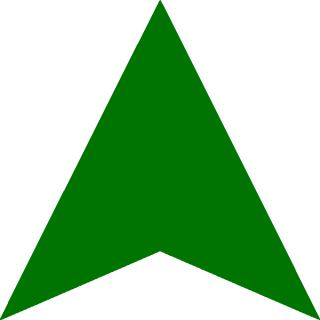 Dark Green Up Arrow Png PNG images