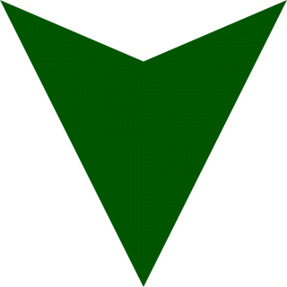 Dark Green Down Arrow PNG images