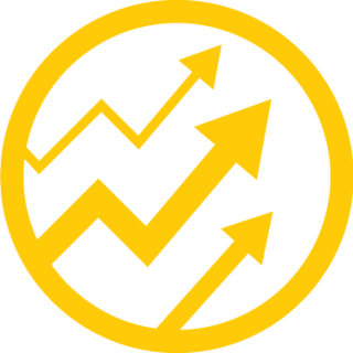 Growth Icon Symbol PNG images