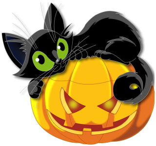 Halloween, Cat PNG PNG images