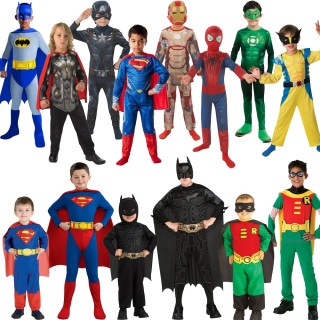 Halloween Costumes Kids Cartoon Characters Png PNG images
