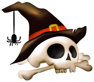 Halloween Skull Png PNG images