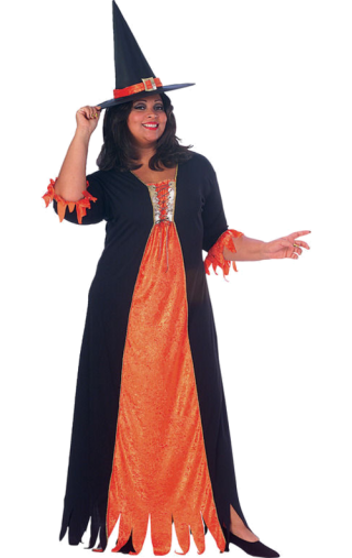 Halloween Witch Costume Png PNG images