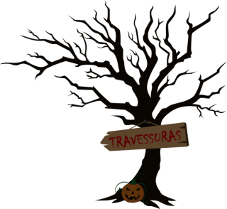 Vector Halloween Tree Png PNG images